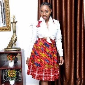 The Akanke skirt.